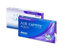 Air Optix Aqua Multifocal (6 lentilles)
