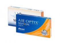 Air Optix Night & Day Aqua (3 lentilles)