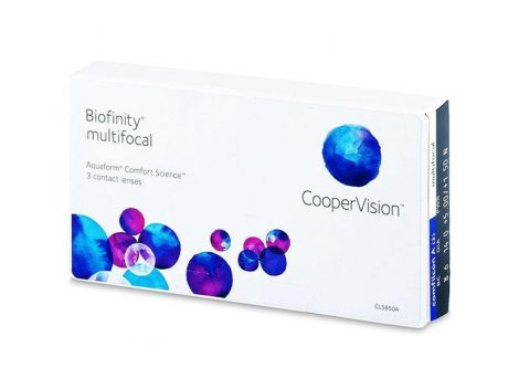 Biofinity Multifocal (3 lentilles)