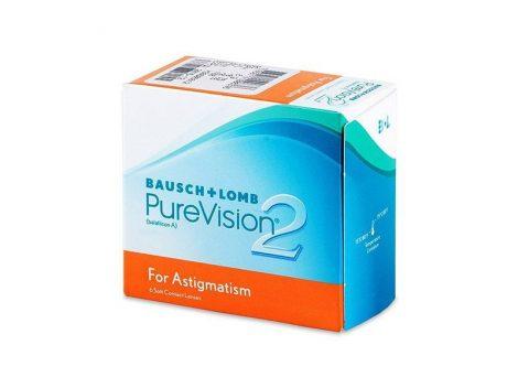 PureVision 2 Toric (6 lentilles)